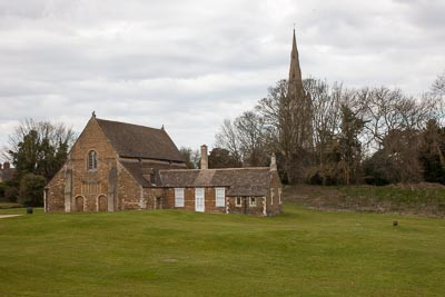 Oakham, Catsle Hall and CHurch, Inner Bailey MD14044