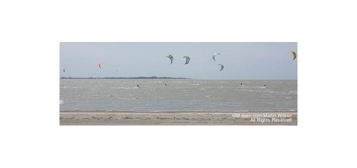 Kite Surfers, Le Crotoy, France