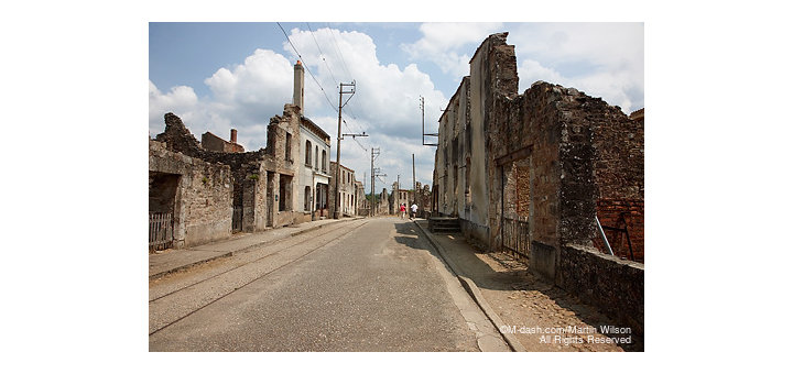 Main Street, Oradour-sur-Glane, France