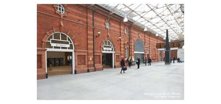 Midland Station Concourse, Nottingham