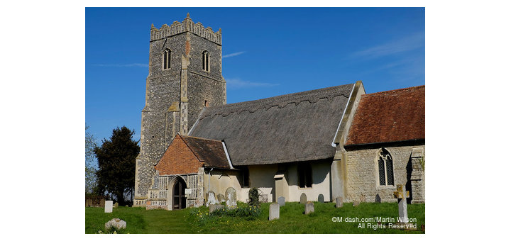 St Botolph's Church, Iken, Suffolk 2015