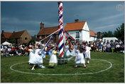 Maypole Dancers, Wellow, Nottinghamshire, England