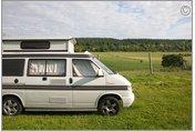 VW T4 campervan, France
