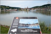 In famous footsteps, Caudebec-en Caux, France 2014