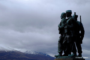 Commando Memorial, Spean Bridge - PD170062