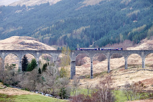 Glenfinnan Viaduct, start of the Harry Potter movies - PD180116